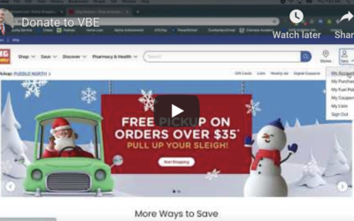 2 Easy Ways to Donate to VBE Explorers!